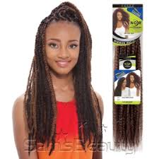 vienna b marley pony braiding hair synthetic hair braids janet collection noir afro twist braid