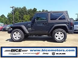 jeep wrangler jk tires 2017 jeep wrangler jk wrangler sport s 4x4 city al