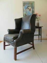 english art deco chesterfield armchair for sale at pamono