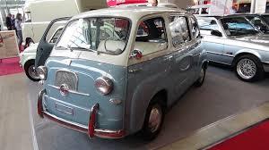 fiat multipla 600 1956 fiat 600 multipla exterior and interior retro classics