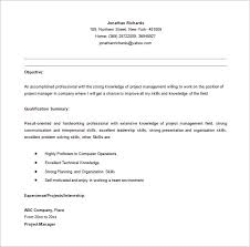 manager resume summary entry level project manager resume berathen com