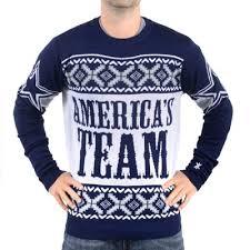 cowboys sweater cowboys slogan crew knit sweater navy