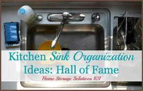 Under The Kitchen Sink Organization by Kitchen Sink Organization Ideas U0026 Storage Solutions