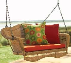 porch swing cushions for home yard exist decor