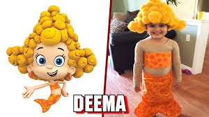 bubble guppies characters in real life youtube