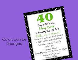 40th birthday party invitation wording u2013 gangcraft net
