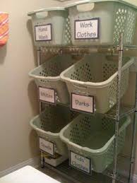 Laundry Room Basket Storage 50 Laundry Storage And Organization Ideas 2017