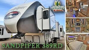 Cardinal Fifth Wheels Floor Plans By Forest River Access Rv 2017 Forest River Sandpiper 389rd S114 Rv Colorado Dealer Sales