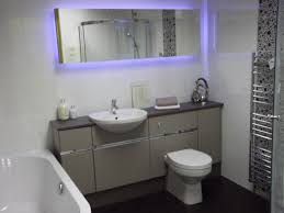 Glass Block Bathroom Ideas by Modern Bathroom Led Lighting Chrome Round Wall Mounted Double