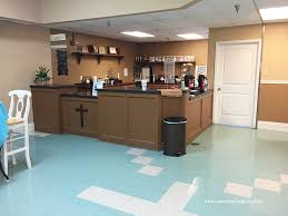 Icy Avalanche Sherwin Williams Church Coffee Shop Makeover
