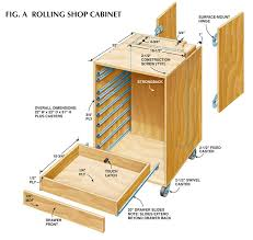 Free Wooden Tool Box Plans by How To Make Rolling Garage Cabinets Diy Plans Free