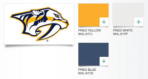 paint your nashville home with preds pride
