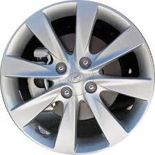 rims for hyundai accent aly70817u a hyundai accent wheel silver painted 529101r305