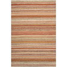 Modern Stripe Rug Safavieh Striped Kilim Beige 5 Ft X 8 Ft Area Rug Stk311a 5