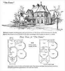 victorian house plans 4 vintage images pinterest victorian
