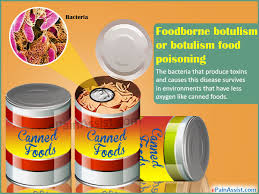 foodborne botulism or botulism food poisoning causes symptoms