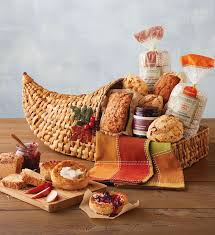 muffin basket delivery the cornucopia of fall favorites gift basket delivery wolfermans