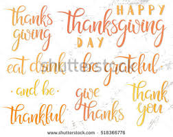 thanksgiving typography happy thanksgiving lettering