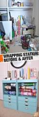 best 25 gift wrap station ideas on pinterest gift wrap storage