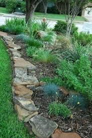 River Rock Garden Bed Rock Garden Edging Ideas Lawn Garden Brick Garden Edging Ideas