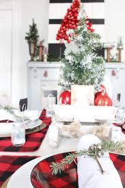 Buffalo Home Decor Buffalo Check Christmas Tablescape 2 Bees In A Pod