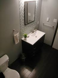 bathroom bathroom glass divider with solid phenolic toilet