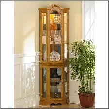 lighted curio cabinet oak corner lighted curio cabinet golden oak corner cabinets