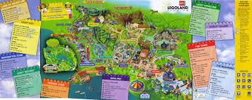 park map 1 at legoland florida photos