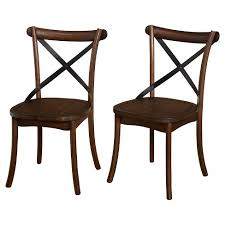 Target Dining Chair Constance Dining Chair Set Of 2 Walnut Target Marketing