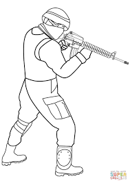 special forces soldier coloring page free printable coloring pages