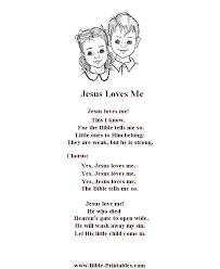 printable lyrics bible printables children s songs and lyrics jesus loves me