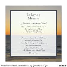 funeral service invitation memorial service announcement invitation joanna memorial