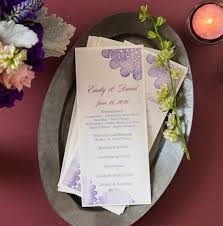 print your own wedding programs printing your own diy wedding programs is easy with avery menu