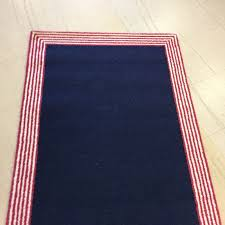 Pottery Barn Rugs Kids by New Authentic Pottery Barn Kids Marshall Stripe 3 X 5 U0027 Rug Navy
