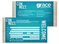 3 5 9 psd connection card template church visitor ideas