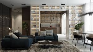 interior 3 comfy living room library fussion ideas reading sofa