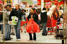 black friday target crowds n j shoppers crowd stores malls for black friday sales nj com