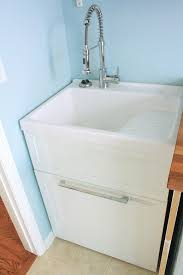 diy utility sink cabinet 14 basement laundry room ideas for small space makeovers laundry
