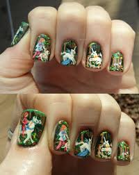 unicorn tapestries nail art by rjdaae on deviantart