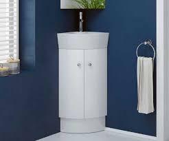 Corner Vanity Units With Basin Rivera White 325 Cloakroom Freestanding Corner Vanity Unit With