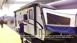 coachmen apex ultra lite nano expandable 17x youtube