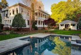 neoclassical house renovated 1914 neoclassical home in myers park wants 2 495 000