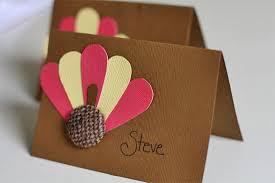 burlap button turkey placecards factory direct craft