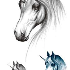 fake horse head best horse tattoos products on wanelo