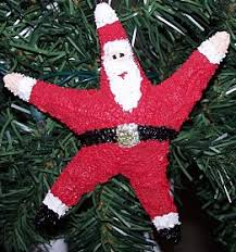 how to make santa ornaments decoration crafts