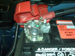hooking positive battery terminal up problem the mustang source