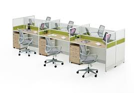 Office Desk Ls 4 Seater Office Workstation Modular Office Desk Office Furniture