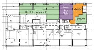 Retail Space Floor Plan Retail Space Available In Chicago U0027s Financial District