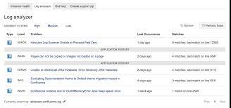 tomcat access log analyzer log scanner and scheduled log scanner atlassian documentation