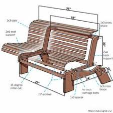 Wood Bench Plans Deck by Perfect Patio Combo Wooden Bench Plans With Built In End Table